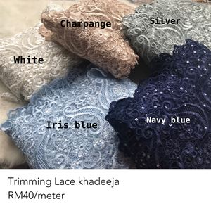 trimming lace khadeeja
