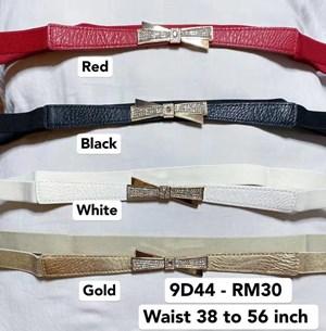 9D44 *Waist 38 to 56 inch/ 96 to 142cm Belt