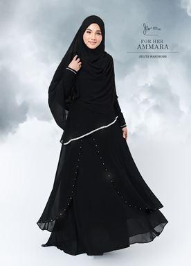 JUBAH AMMARA - BLACK