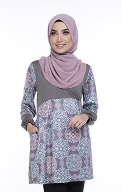 Ella Misaki (QM120)  Blouse -Size M, L and XL sold out, others available