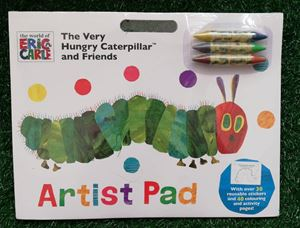 THE VERY HUNGRY CATERPILLAR AND FRIENDS (ARTIST PAD)