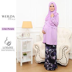Werda Blouse : Lilac Purple