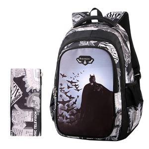 PREORDERcil  Primary School Bag + Pen Case ( BATMAN )  ETA EARLY-MID NOV