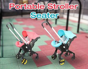 Portable Stroller With Seater