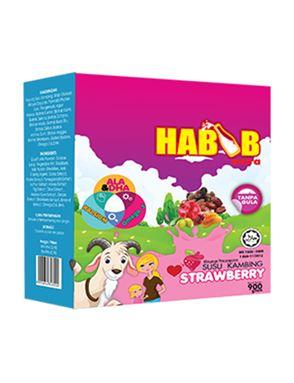 Habib Extra Susu Kambing Strawberry