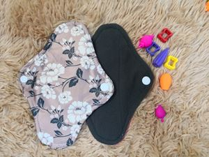 Cloth Pad - Floral ( Down To Earth)  Size S