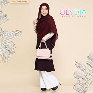OLYDIA SEDUCTIVE BLOUSE (UNTONIC PURPLE)