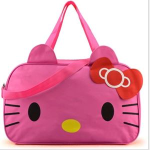 Hello Kitty Travelling Bag - Dark Pink
