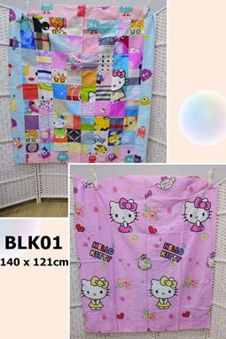 BLK01,BLK02,BLK03, BLK04,BLK05,BLK06,BLK07 Patchwork Quilt 拼布百家被 Ready Stock