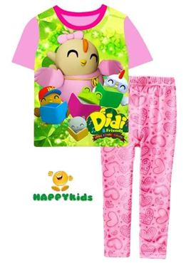 @  H-010 DID & FRIENDS PINK   { SIZE 6-9M, 9-12M & 9Y }