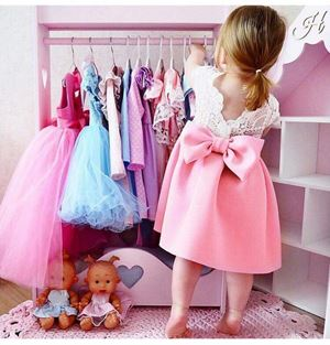 PREORDER BABYLACE DRESS PINK