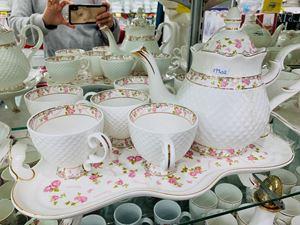 TEA SET ENGLISH FLOWER