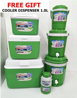 6PCS CBCD - FOREST GREEN