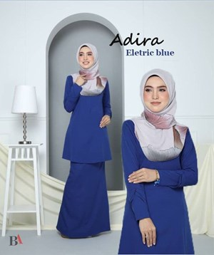KURUNG RIAU ADIRA ELECTRIC BLUE