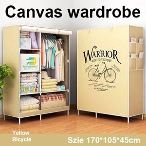 Canvas wardrobe / Almari pakaian kanvas
