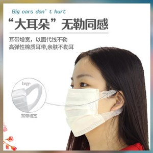 Surgical Face Mask 3-ply ,Comfy Wering  meltblown cloth three-layer protective disposable mask
