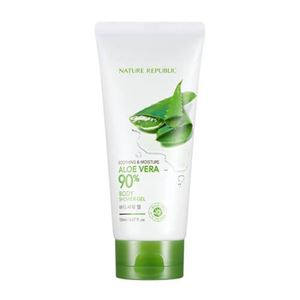 NATURE REPUBLIC Soothing And Moisture Aloe Vera 90 Body Shower Gel Tube