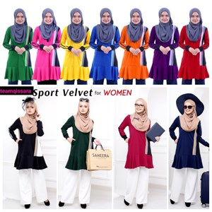 SPORT VELVET - WOMAN/MOM XS-XL