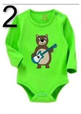 @  BABY ROMPER   2. GREEN BEAR  ( 18M  )
