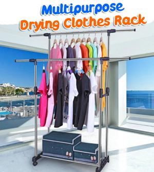 Multipurpose Drying Clothes Rack