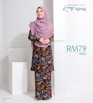 02 KURUNG AGUNG IRONLESS IN OLIVIA