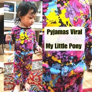 Pyjamas Viral (My Little Pony) Size Baby hingga sekolah rendah