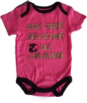Wording Rompers - Mom's Cranky?