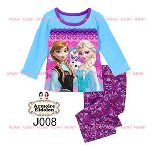 A&E Pyjamas - Frozen Anna & Elsa - Blue Purple (8-12y)