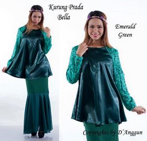 Blouse Prada Bella Emerald Green