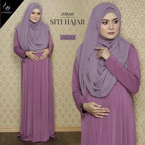 Jubah Siti Hajar : Purple
