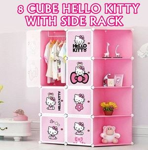 8 CUBE HELLO KITTY WITH SIDE RACK N00657 ETA 21/10