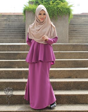 KURUNG SHILA - DUSTY PURPLE