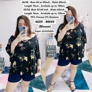 4009 *Bust 46 to 60 inch/ 117 - 152cm