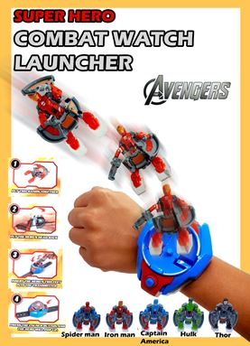Combat Watch Launcher toy for kids