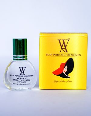 WAN BODY PERFUME-  (WW07) VERSACE BRIGHT CRYSTAL