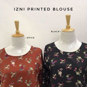 IZNI PRINTED BLOUSE