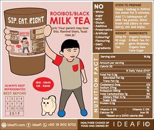 ROOIBOS/BLACK MILK TEA