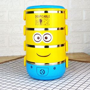 LUNCH BOX MINION LIMITED EDITION - 4 TIER