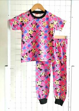 Pyjamas MINNIE BLUE LOVE PINK : KIDS size 2 - 8 (IKIDS)