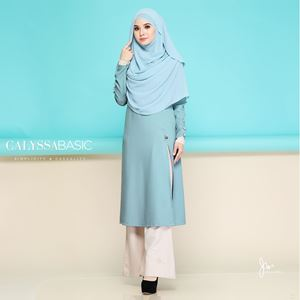 CALYSSA BASIC CASUALITY 02 (CORNFLOWER BLUE)
