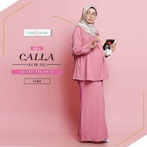 Calla Kurung - Pink  (Pre Order)