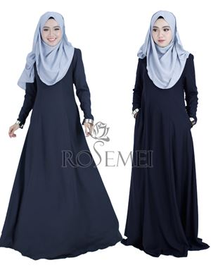 SALEEMA EXCLUSIVE DRESS - BLACK