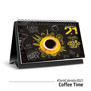 TABLE CALENDAR COFFEE TIME