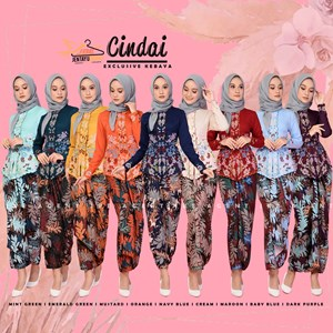 CINDAI KEBAYA EXCLUSIVE