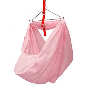 spring cot net pink