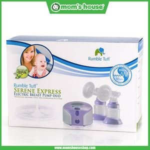 Rumble Tuff: Mighty Tyke Double Breastpump (rechargeable)