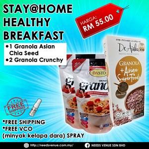 Stay@Home Healthy Breakfast