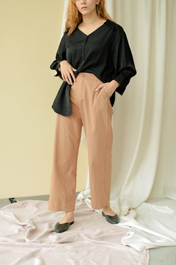 Rosalea Wide Legged Pants (Camel)