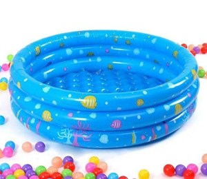 3 Ring Round Swimming Pool