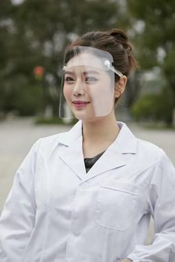 Multifunctional Transparent Masks Baffle Block Anti Droplet Dust-proof Protect Full Face Covering Mask Visor Shield